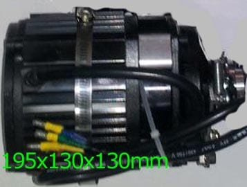 3000w bldc motor